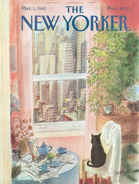semp new yorker 1982 de l humour. Black Bedroom Furniture Sets. Home Design Ideas