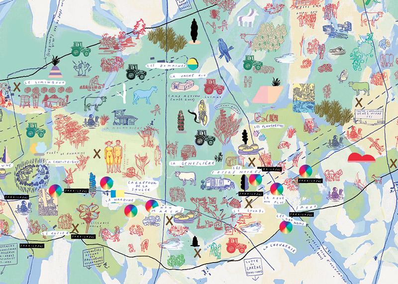 carte notre dame des landes Carte de la Zone à défendre de Notre Dame des Landes   Formes